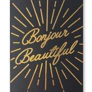 Bonjour Beautiful, Postcard