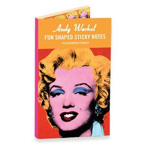 Andy Warhol Marilyn Shaped Sticky Notes