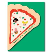 Pizza, Greeting Card