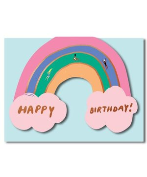 Rainbow, Greeting Card