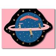 Planet Fun, Greeting Card