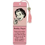 Beaded Bookmark, Senility Prayer
