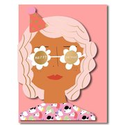Party Girl, Greeting Card