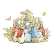 Square Bunnies with Mum