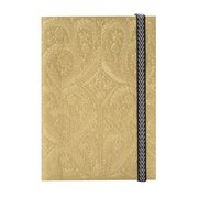 Gold A6 Paseo Notebook