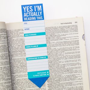 Yes I'm actually reading this, Bookmark Pad