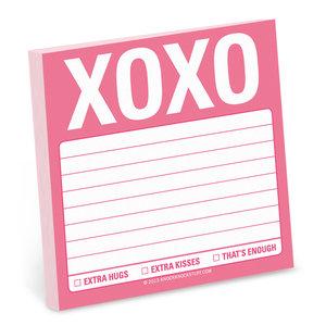 XOXO Sticky Notes