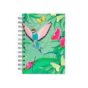 Kolibri, Spiral Bound Notebook, 80 sheets