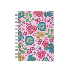 July In The Sky, Spiral Bound Notebook, 80 sheets