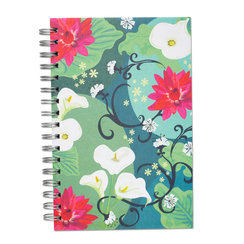 Lilies of the Valley, Spiral Bound Notebook, 100 sheets