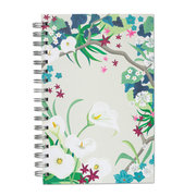 Sweet Lilies, Spiral Bound Notebook, 100 sheets