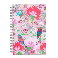 Meeting In Pink, Spiral Bound Notebook, 100 sheets