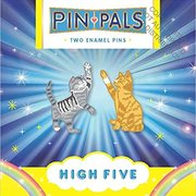 High Five Twin Pins, Two Enamel Pins