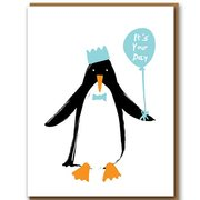 Penguin, Greeting Card