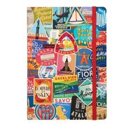 Troy Litten Vintage Travel Labels Gilded Planner