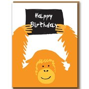 Orangutang, Greeting Card
