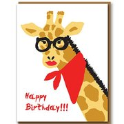 Giraffe, Greeting Card