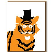 Tiger, Greeting Card