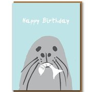 Seal, Greeting Card
