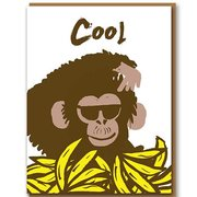 Monkey, Greeting Card