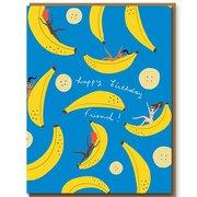 Banana Party, Greeting Card