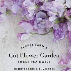 Floret Farm's Cut Flower Garden: Sweet Pea Notes, 20 Cards