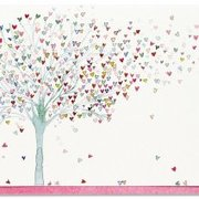 Tree of Hearts, Notecard Box, 14 cards