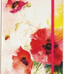 Watercolor Poppies, Journal