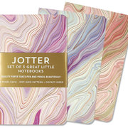 Marble with Golden Lines, Jotter