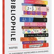 Bibliophile Notes, 20 Different Notecards & Envelopes