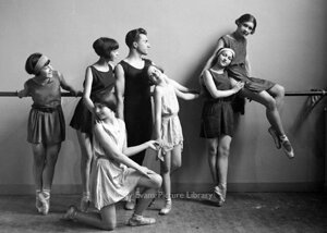 Ballet group, Greeting card