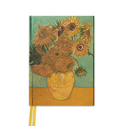 Van Gogh: Sunflowers (Foiled Pocket Journal)