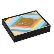 Geometric Pastel Luxe Thank You Notes
