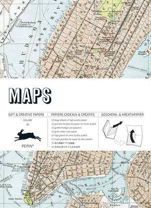 Maps, Gift & Creative Paper Book