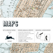 Maps, Gift & Creative Paper Book