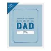 What I Love About Dad Fill in the Love® Card Booklet