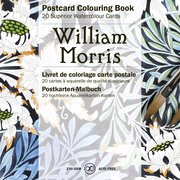 William Morris, Postcard Colouring Book
