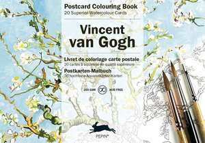 Van Gogh, Postcard Colouring Book