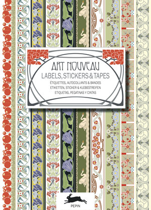 Art Nouveau, Labels Sticker & Tapes
