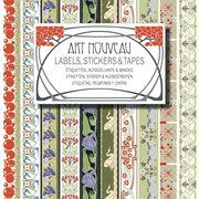 Art Nouveau, Labels Sticker & Tapes