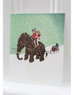 Winter Woolly , B & B Xmas Postcards