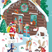 Chalet Snow L/C, MINI CARD-CHRISTMAS CELLO PACK
