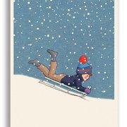 Wweeeeee!, Belle & Boo Playtime Xmas Postcards
