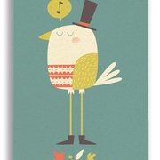 Posh Boird, Paper & Cloth Postcards
