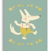 Hurrah Dog, Paper & Cloth Postcards
