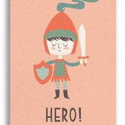 Hero, Paper & Cloth Postcards