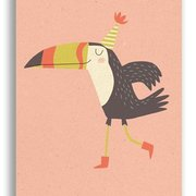 Birdy, Paper & Cloth Postcards