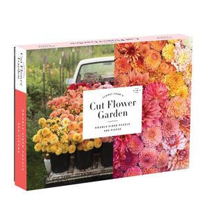 Floret Farm's Cut Flower Garden 2-sided 500pc Puzzle