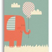 Elephant, Paper & Cloth Postcards