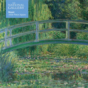 National Gallery Monet: Bridge over Lily Pond, 1000-piece jigsaw